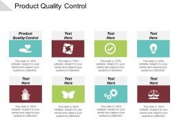 Product Quality Control Ppt Powerpoint Presentation Infographic Template Graphics Download Cpb