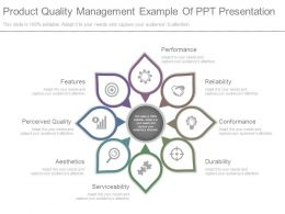 Product Quality Management Example Of Ppt Presentation