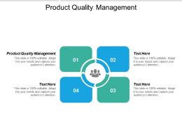 Product Quality Management Ppt Powerpoint Presentation Inspiration Master Slide Cpb