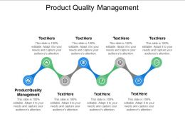 Product Quality Management Ppt Powerpoint Presentation Summary Grid Cpb