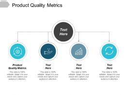Product Quality Metrics Ppt Powerpoint Presentation Show Templates Cpb
