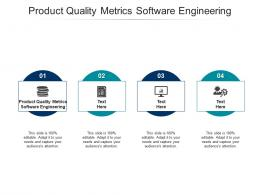 Product Quality Metrics Software Engineering Ppt Powerpoint Presentation Infographics Cpb