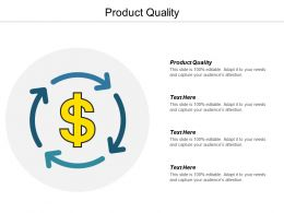 Product Quality Ppt Powerpoint Presentation Infographic Template Templates Cpb