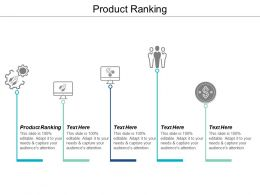 Product Ranking Ppt Powerpoint Presentation Gallery Example Introduction Cpb
