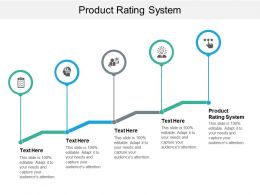 Product Rating System Ppt Powerpoint Presentation Styles Inspiration Cpb