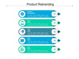 Product Rebranding Ppt Powerpoint Presentation Show Visuals Cpb