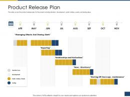 Product Release Plan Process Of Requirements Management Ppt Professional