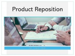 Product Reposition Environment Repositioning Strategies Marketing Evaluation