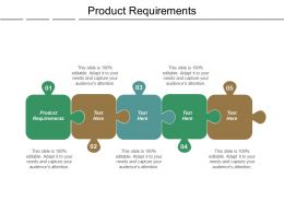 Product Requirements Ppt Powerpoint Presentation Show Topics Cpb
