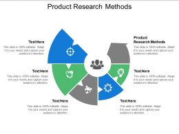 Product Research Methods Ppt Powerpoint Presentation Pictures Gallery Cpb