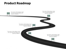 Product Roadmap A109 Ppt Powerpoint Presentation Gallery Designs Download