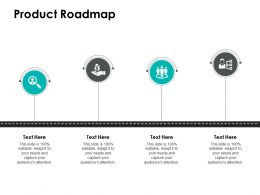 Product Roadmap Big Data Ppt Powerpoint Presentation File Display