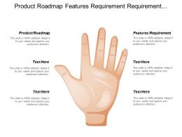 Product Roadmap Features Requirement Requirement Gathering Release Feedback
