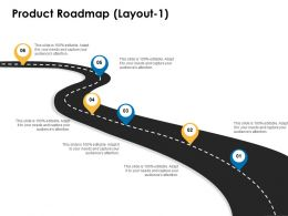Product Roadmap Layout 1 Location Information Ppt Powerpoint Presentation Outline