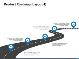 Product Roadmap Layout Location Ppt Powerpoint Presentation Images
