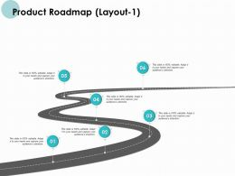 Product Roadmap Layout Timeline K321 Powerpoint Presentation Themes