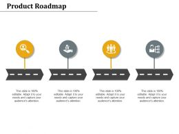 Product Roadmap Management Marketing Ppt Powerpoint Presentation Styles Pictures