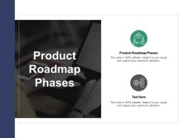 Product Roadmap Phases Ppt Powerpoint Presentation Inspiration Show Cpb