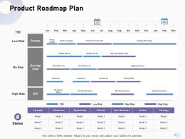 Product Roadmap Plan Rich Web Ppt Powerpoint Presentation Model Format