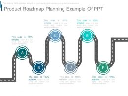 Product Roadmap Planning Example Of Ppt