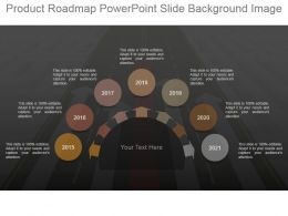 Product Roadmap Powerpoint Slide Background Image