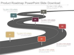 Product Roadmap Powerpoint Slide Download