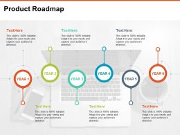 Product Roadmap Ppt Portfolio Pictures