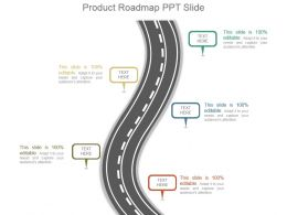 Product Roadmap Ppt Slide