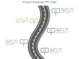 Product Roadmap Ppt Slide