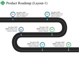 Product Roadmap Ppt Summary Information