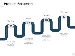 Product Roadmap Process A137 Ppt Powerpoint Presentation Icon Rules