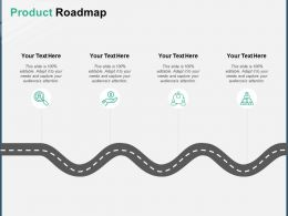 Product Roadmap Process Planning A160 Ppt Powerpoint Presentation Outline Deck