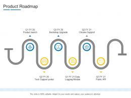 Product Roadmap Product Channel Segmentation Ppt Brochure