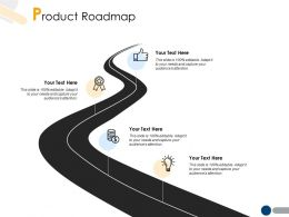 Product Roadmap Technology A221 Ppt Powerpoint Presentation File Slides