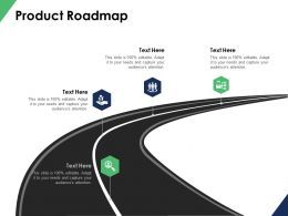 Product Roadmap Timeline B103 Ppt Powerpoint Presentation File Formats