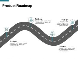 Product Roadmap Timeline B124 Ppt Powerpoint Presentation Gallery Guide