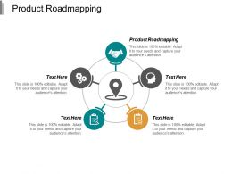 Product Roadmapping Ppt Powerpoint Presentation Portfolio Background Designs Cpb