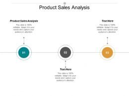 Product Sales Analysis Ppt Powerpoint Presentation Portfolio Background Image Cpb