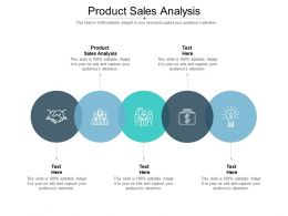 Product Sales Analysis Ppt Powerpoint Presentation Professional Background Images Cpb