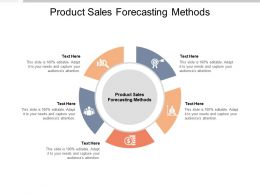 Product Sales Forecasting Methods Ppt Powerpoint Presentation File Guidelines Cpb