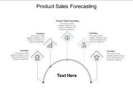 Product Sales Forecasting Ppt Powerpoint Presentation Infographic Template Vector Cpb