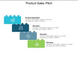 Product Sales Pitch Ppt Powerpoint Presentation Slides Images Cpb