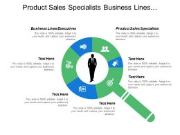 Product Sales Specialists Business Lines Executives Market Segmentation