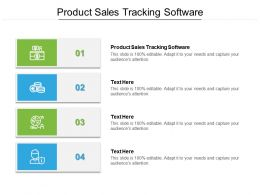 Product Sales Tracking Software Ppt Powerpoint Presentation Gallery Inspiration Cpb