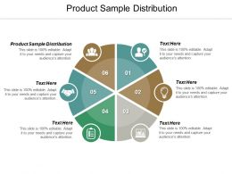 Product Sample Distribution Ppt Powerpoint Presentation Icon Layouts Cpb