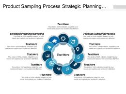 Product Sampling Process Strategic Planning Marketing Portfolio Modeling Finance Cpb