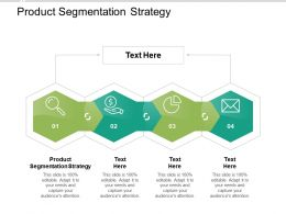 Product Segmentation Strategy Ppt Powerpoint Presentation Infographic Template Samples Cpb