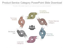 Product Service Category Powerpoint Slide Download