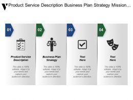 Product Service Description Business Plan Strategy Mission Statement