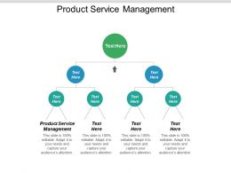 Product Service Management Ppt Powerpoint Presentation Portfolio Elements Cpb